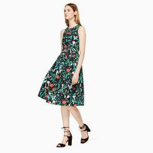 kate spade ∙ jardin poplin dress
